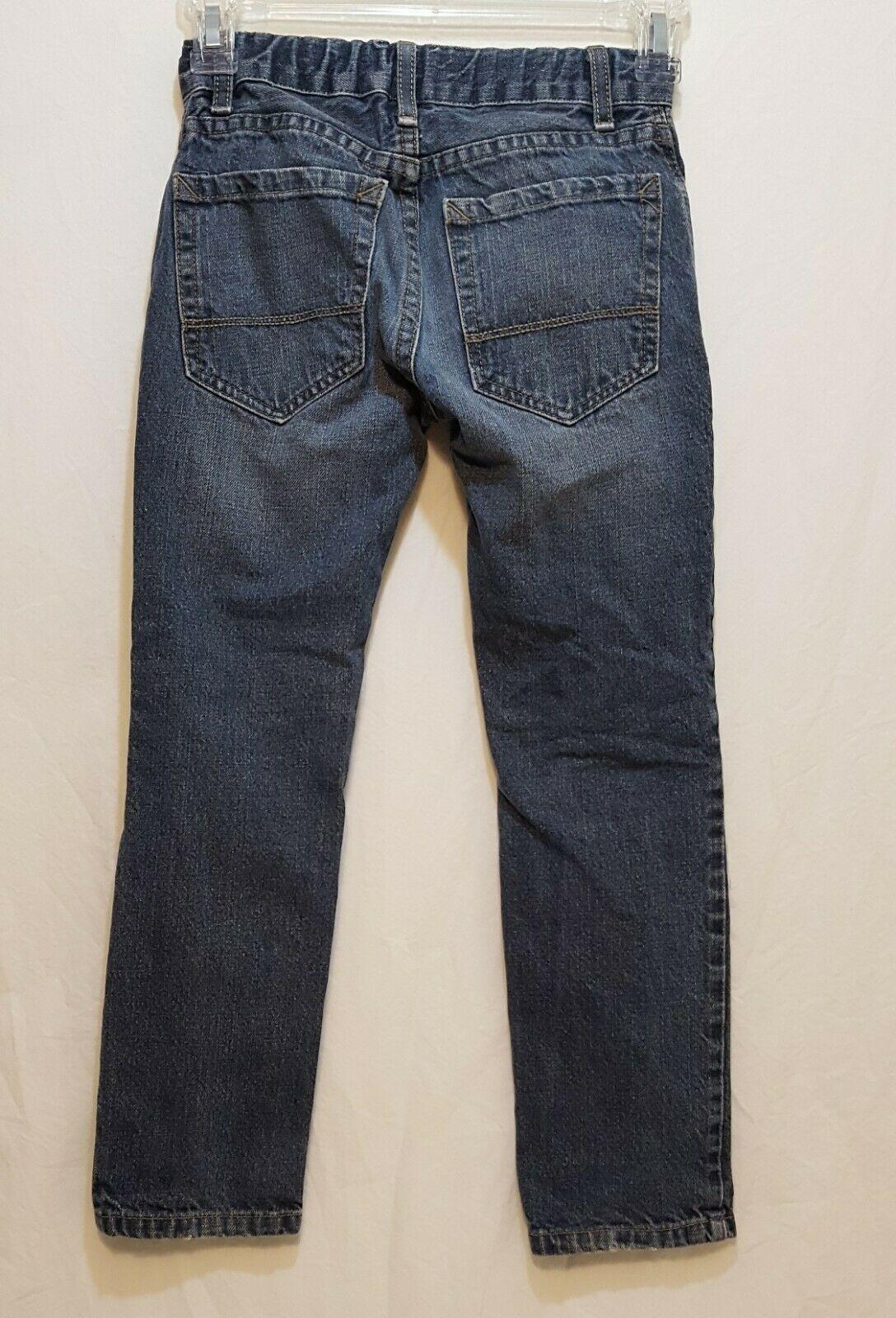 Blue Jeans Denim Boys Size 8 Slim Straight Falls Creek image 2