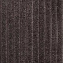 Pillow Decor - Cotton Corduroy Brown Throw Pillow 16x16 image 3