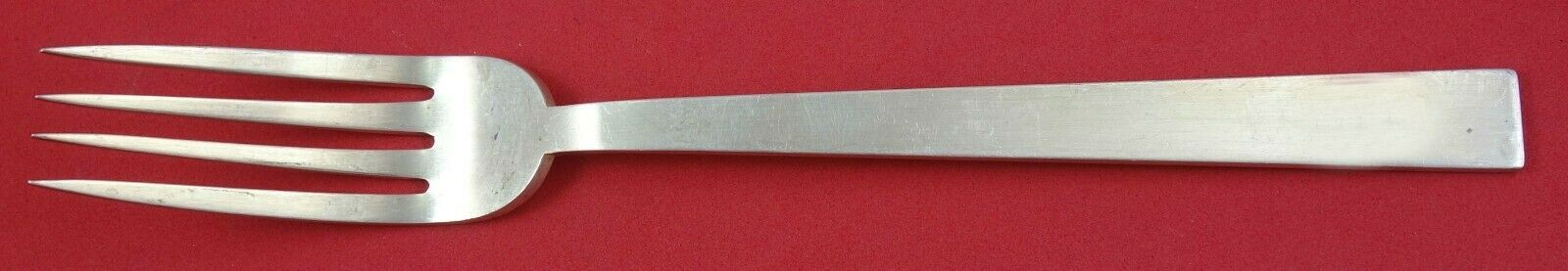 """Moderne by Adra Sterling Silver Regular Fork 7"""" Serving Piece Vintage"""