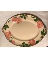 """Franciscan Desert Rose Oval Platter Serving Plate 14"""" Backstamp USA - $24.74"""
