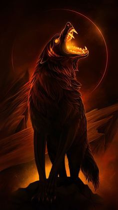 Primary image for Haunted Supreme Lycan of Hades your own pet demon wolf HELL ON A LEASH
