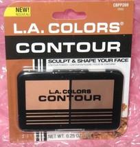 L.A.COLORS Contour Powder Sculpt & Shape Your Face~DEEP CBPP269 ~ New In... - $4.94