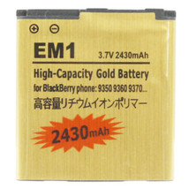 2430mAh EM1 High Capacity Golden Edition Business Battery for BlackBerry... - $24.26