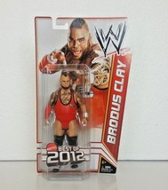 WWE Mattel Action Figure Brodus Clay Best of 2012 - $17.81