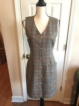 Liz Claiborne 100% Wool Jumper Dress. Sz 4 - $18.99
