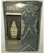 "Croscill Canopy Valance Vincent 54"" Wide x 19"" Length Top Treatment New ... - £29.42 GBP"