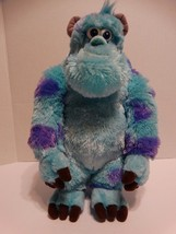 "Disney Pixar Sully Plush Stuffed Animal Blue Purple Monsters Inc Large 14"" - $19.79"