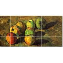 Paul Cezanne Fruit Vegetables Painting Tile Murals BZ22212. Kitchen Backsplash B - $180.00+