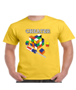 Cheater Rubiks Cube Funny T Shirt Youth and Men's Sizes All Colors #221 - $12.71+