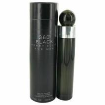 Perry Ellis 360 Black by Perry Ellis Eau De Toilette Spray 3.4 oz for Men - $31.75