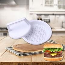 Hamburger Meat Press Tool Grill Maker Plastic Burger Cooking Kitchen Mol... - $4.47