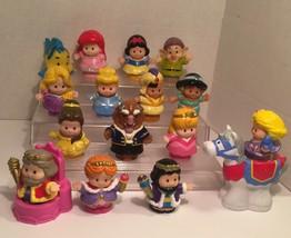 FP Little People Disney Princess Belle Jasmine Aladdin castle People horse - $30.38