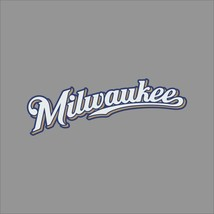 Milwaukee Brewers #6 MLB Team Logo Vinyl Decal Sticker Car Window Wall Cornhole - $4.40+