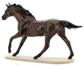 "Hagen-Renaker Miniature Ceramic Horse Figurine Thoroughbred ""Seabiscuit"" image 8"