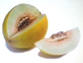 SHIPPED FROM US 50 Melon Canary Yellow Sweetest Healthful Seed, JK05 - $8.32