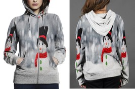[Perfect Winter Christmas Gift] Santa Clause Small Doll Hoodie Zipper fo... - $50.99+