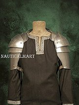 NauticalMart Metal Armor For Larp - Militia Medieval Pauldron Shoulder Guard - $309.52