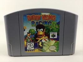 Nintendo 64 Diddy Kong Racing Game Pak N64 Video Game Vintage 1997 Rated E - $44.50