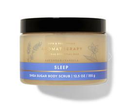 Bath & Body Works Aromatherapy Sleep Lavender Vanilla Shea Sugar Body Sc... - £14.20 GBP