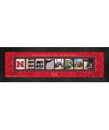 Personalized University of Nebraska Campus Letter Art Framed Print - $39.95