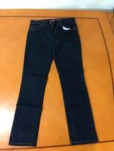 Girls Kids The Children's Place Dark Blue Skinny Jeans Denim Size 10 - $8.90