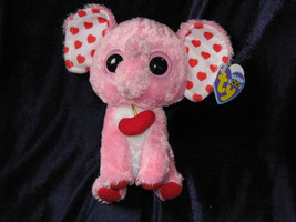Ty Beanie Boo Tender the Elephant - 6 inch NWMT. Retired and hard to fin... - $19.79