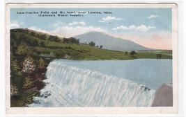 Law-Ton-Ka Falls Lawton Oklahoma 1920c postcard - $6.44