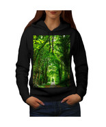 Green Forest Road Sweatshirt Hoody Venice Boat Women Hoodie - $21.99+