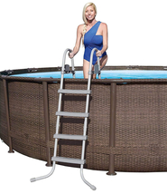"Bestway Power Steel Deluxe Series 20' x 48"" Above Ground Pool - Ready to Ship image 6"