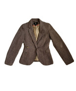 H&M Brown Women Jacket Size 4- Used, Excellent condition - $24.75