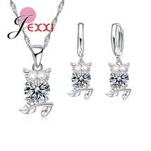 Pretty Owl Pendant Cute Christmas Birthday Gift S90 Fashion Jewelry Set ... - $8.90