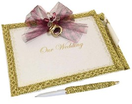 Our Wedding Signature Guest Book with Pen Set - $29.97