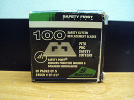 100 New Pacific Handy Cutter Phc sp017 Replacement Blades S3/S4/S5 1ST Cls S&Hh - $14.84