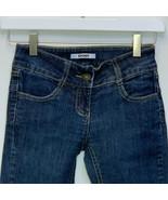 DKNY Girls Designer Blue Jeans Size 8 - $22.74
