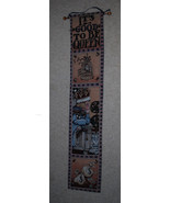 """Mary Engelbreit It's Good To Be Queen Wall Hanging 40"""" - $21.00"""