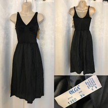 Vintage New Olga Ultra Liner Non Cling Smoother Black Slip Size 34 - $18.56