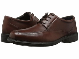New Bostonian Lites Men Ipswich Oxford Leather Shoes Brown Size 11 - $79.19