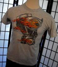 Harley-Davidson  - Seaford Delaware DE - heather gray adult tee shirt me... - $19.95