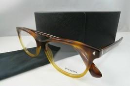 Prada Women's Tortoise Eyeglasses and Case 52mm VPR 14R TKU-1O1  - $170.99