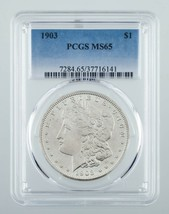 1903 $1 Silver Morgan Dollar Graded by PCGS as MS-65! Great Morgan! - $311.84