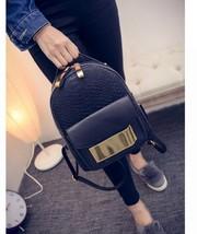 Snake PU Leather Women Backpack 2017 Summer Fashion Rucksack Back Bag Go... - $29.02+
