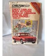 Chilton Repair Manual Cavalier Skyhawk  Cimarron Pontiac Firenza  1982 8... - $13.99