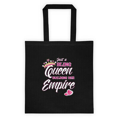 Just a Bling Queen Building her empire Tote bag Jewelry Consultant