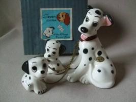 Disney 1959th 101 Dalmatians Dalmatine pottery doll SEVEN CHINA Vintage ... - $219.78