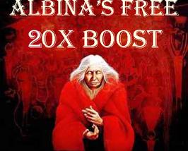 Wed Free W Orders Albina Will 20X High Priestess Boost All Magick & Magickals - $0.00
