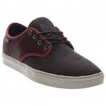 VANS OTW COLLECTION LUDLOW + LEATHER HENNA BROWN SHOES MENS SZ 7.5 BURGUNDY - $56.06