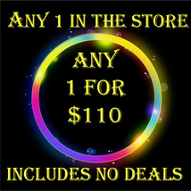 EXTENDED WED PICK ANY 1 IN THE STORE $110 INCLUDES NO DEALS MYSTICAL TRE... - $0.00