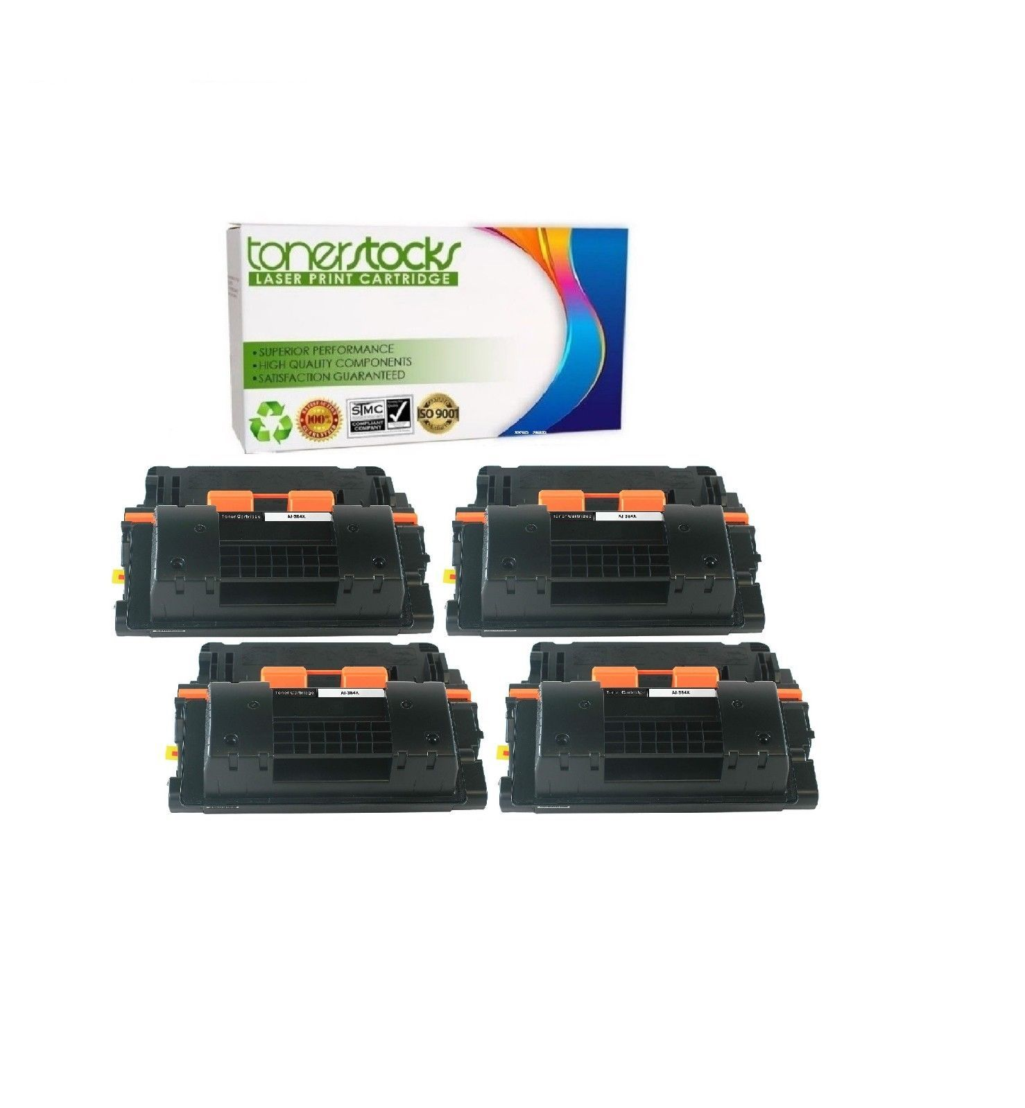 10PK High Yield CC364X 64X Toner Cartridge For HP LaserJet P4015 P4515 P4515TN