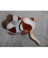Build a Bear Texas Longhorn Plush Stuffed Animal Brown Orange White Bull - $24.73