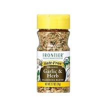 Frontier Herb Organic Salt Free Garlic and Herb Seasoning, 2.7 Ounce - 6... - $59.58
